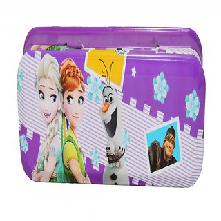6th Dimensions Frozen Two Layered Pencil Box Pack Of 1