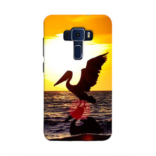 Print Masti Lovely Colorful Stones Stacked Together To Form A Wall Deign Back Cover For Asus Zenfone 3 Laser ZC551KL (5.5 Inches)