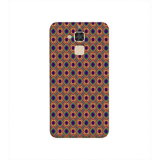 Print Masti Beautiful Pink Floral Design Back Cover For Asus Zenfone 3 Max ZC520TL (5.2 Inches)