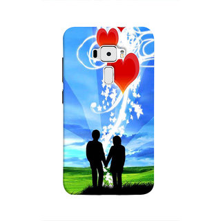 Print Masti Horror King Skeleton Crying With His Child Design Back Cover For Asus Zenfone 3 ZE520KL (5.2 Inches)