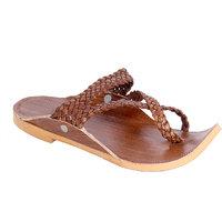 Panahi Men's Beige Slip On Sandals