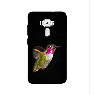 Print Masti Beautiful Dial Of Damru Of Shiv In Black Background Design Back Cover For Asus Zenfone 3 ZE520KL (5.2 Inches)