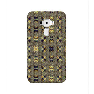 Print Masti Lovely Colorful Picture Of Diamond Shape Design Back Cover For Asus Zenfone 3 ZE552KL (5 Inches)
