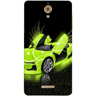 Print Masti Deadly Animals And Red Fire Design Back Cover For Coolpad Mega 2.5D