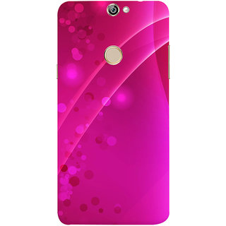 Print Masti Lovely Blue Color Lines In Column Wise Design Back Cover For Coolpad Max A8