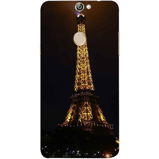 Print Masti Artistic Girl Is Watching Sunset Design Back Cover For Coolpad Max A8