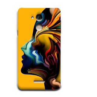 Print Masti Artistic Fgirl Is Wearing Bull Mask And Bird On The Finger Design Back Cover For Coolpad Note 5