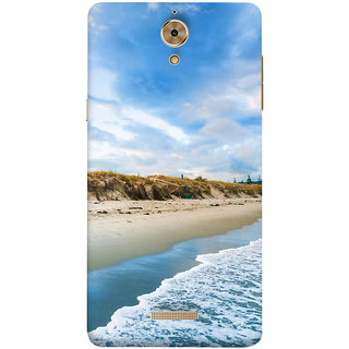 Print Masti Lovely Pink Checks Design Back Cover For Coolpad Mega 2.5D