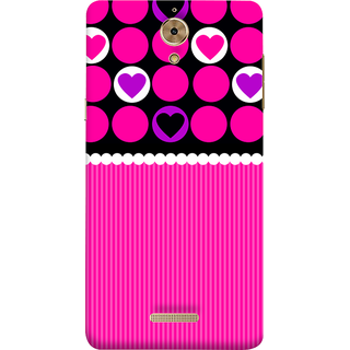 Print Masti Lovely Colorful Checks Design Back Cover For Coolpad Mega 2.5D