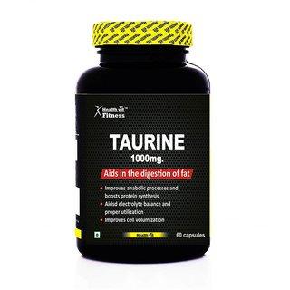 Healthvit Fitness Taurine 1000mg 60 Capsules