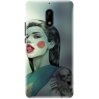 Nokia 6 Printed Back Cover By CareFone