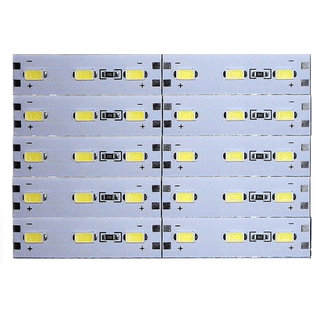 12 Volts DC Rigid Aluminum Slot 5730 SMD 30 LED Strip Light