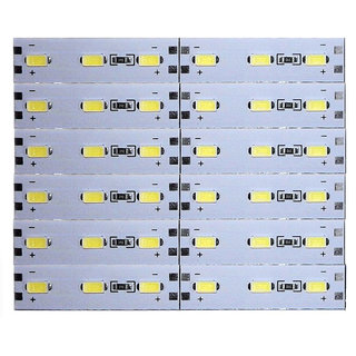12 Volts DC Rigid Aluminum Slot 5730 SMD 36 LED Strip Light