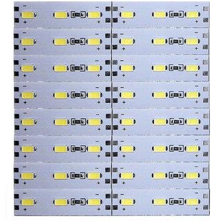 12 Volts DC Rigid Aluminum Slot 5730 SMD 48 LED Strip Light