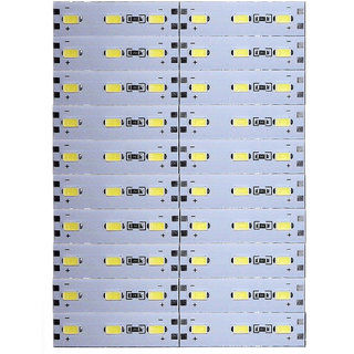 12 Volts DC Rigid Aluminum Slot 5730 SMD 60 LED Strip Light