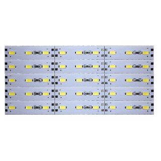 12 Volts DC Rigid Aluminum Slot 5730 SMD 45 LED Strip Light