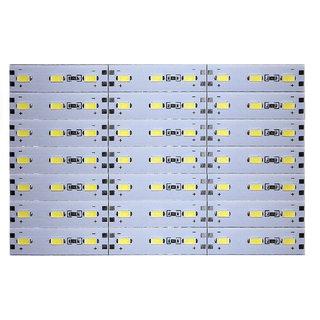 12 Volts DC Rigid Aluminum Slot 5730 SMD 63 LED Strip Light