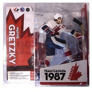 McFarlane Toys NHL Sports Picks Series Team Canada Action Figure: Wayne Gretzky (1987 Team Canada) W