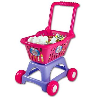 The Learning Journey Shop and Go Shopping Cart, Multi Color