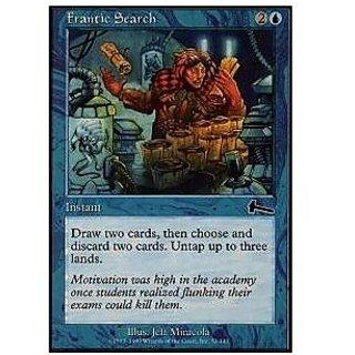 Magic: The Gathering Frantic Search Urzas Legacy Foil