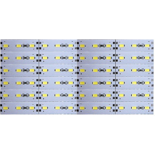 12 Volts DC Rigid Aluminum Slot 5730 SMD 72 LED Strip Light