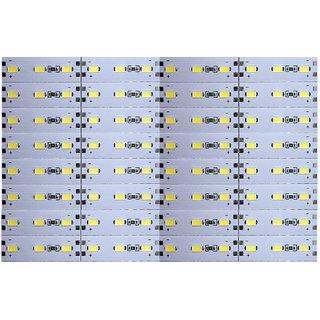12 Volts DC Rigid Aluminum Slot 5730 SMD 96 LED Strip Light