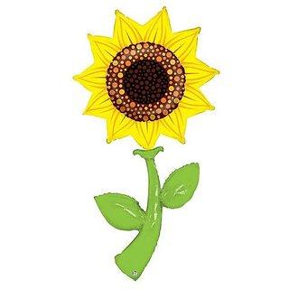 60 Inch Sunflower Fresh Picks Helium Shape Balloon