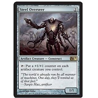 Magic: the Gathering - Steel Overseer - Magic 2011