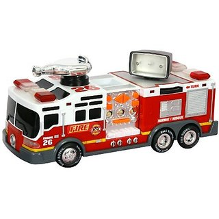 """Toy State 14"""" Rush And Rescue Fire Truck"""