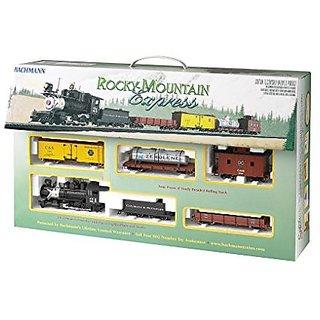 Bachmann On30 Spectrum Rocky Mountain Express Set