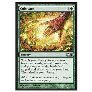 Magic: the Gathering - Cultivate - Magic 2011 - Foil