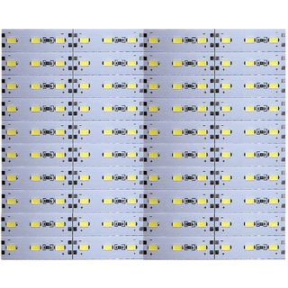 12 Volts DC Rigid Aluminum Slot 5730 SMD 120 LED Strip Light