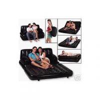 Air Sofa Cum Bed Love Seat-Baby Nap Bed Recliner 5 In 1 Air Sofa+ ALLUMA WALLET