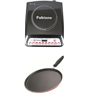 Fabsurya Kitchen Classic combo Induction Cooktop with Induction Base Non Stick Dosa Tawa