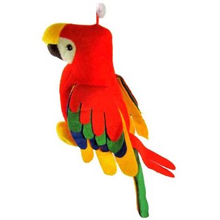 Red Parrot Soft Toy