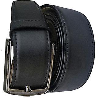 Pu Leather Formal Semi Formal Belt For All Season Self Textured