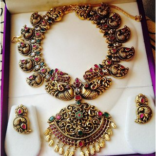 c90bc753c Buy Silver Temple Jewellery Online @ ₹25000 from ShopClues