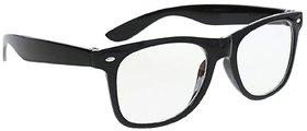 TheWhoop Black Transparent Spectacle Frame Eyeglasses