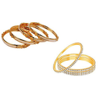 Combo of Bangles by Sparkling Jewellery