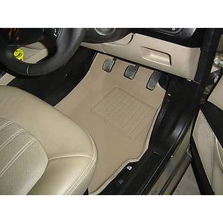 I20 3D mats in beige color