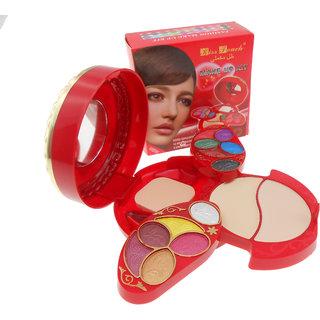 Kiss Tuch Makeup Kit high quality with Eyeshadow & Lip Gloss 2 way Cake K6019