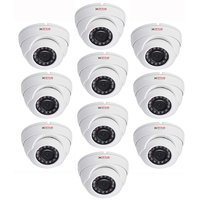 CP PLUS 1.3 MEGA PIXEL DOME CCTV CAMERA (PACK OF 10)