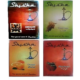 Tasty Hookah Flavours pack of 4 (Assorted)