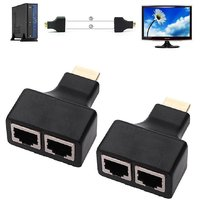 Sketchfab HDMI Extender Over Cat5e/Cat6 Cable Upto 30 m
