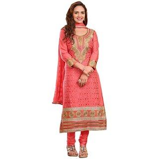 Sinina  Cotton Salwar Kameez Unstitched Dress Material 116Tangy05