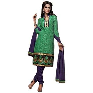 Sinina Chanderi Cotton Salwar Kameez Unstitched Dress Material 112Tangy5008