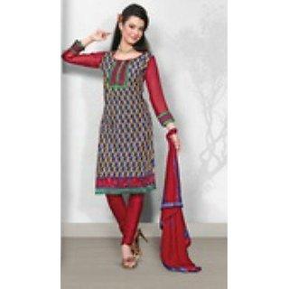 Sinina Cotton Salwar Kameez Unstitched Dress Material 10LWB113