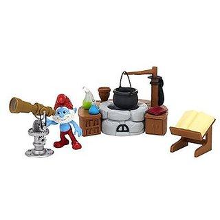 The Smurfs Papa Smurfs Lab Adventure Pack