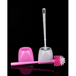 Mega Western Toilet Brush With Holder/Stand (Pack of 2)