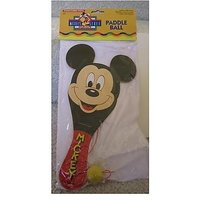 MICKEY MOUSE DISNEY MICKEYS STUFF FOR KIDS PADDLE BALL